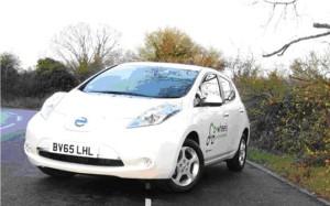 Co-Wheels' Nissan Leaf